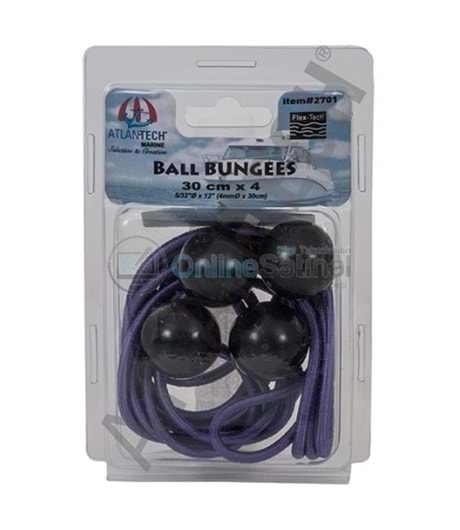 Ball BUNGEES 30 cm x 4