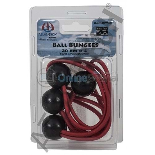 Ball BUNGEES 20 cm x 4