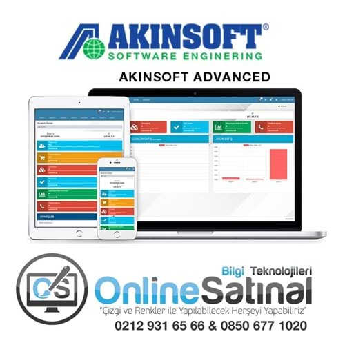 AKINSOFT ADVANCED E-TİCARET PAKETİ